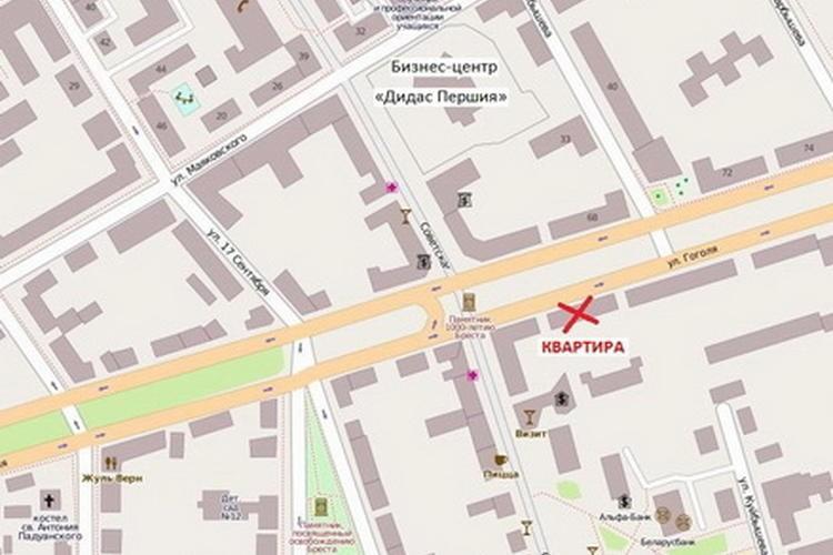квартира на сутки, Брест, Гоголя ул. 59